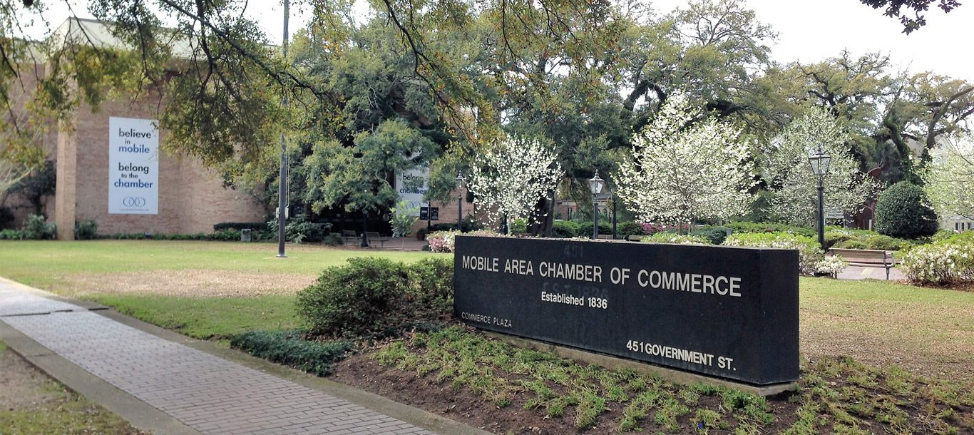 chamber of commerce sign